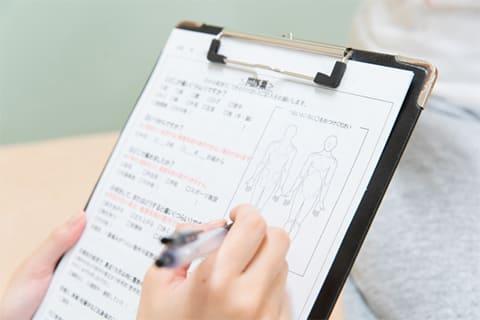 痛みや症状の原因を判明し、レベルの高い施術を行います